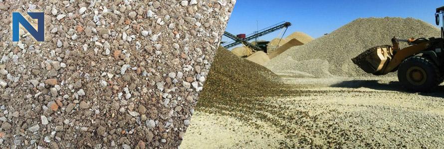 щебеночно-песчаная смесь